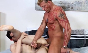 Muscular dude fucks his boyfriend almost passion and lust