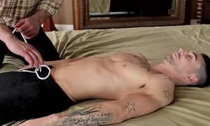 Gay uncle massages and fucks straight nephew